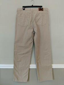 Details zu TOMMY HILFIGER Tan Red Label Jeans 40x36 Freedom Fit Premium Vintage Denim Pants