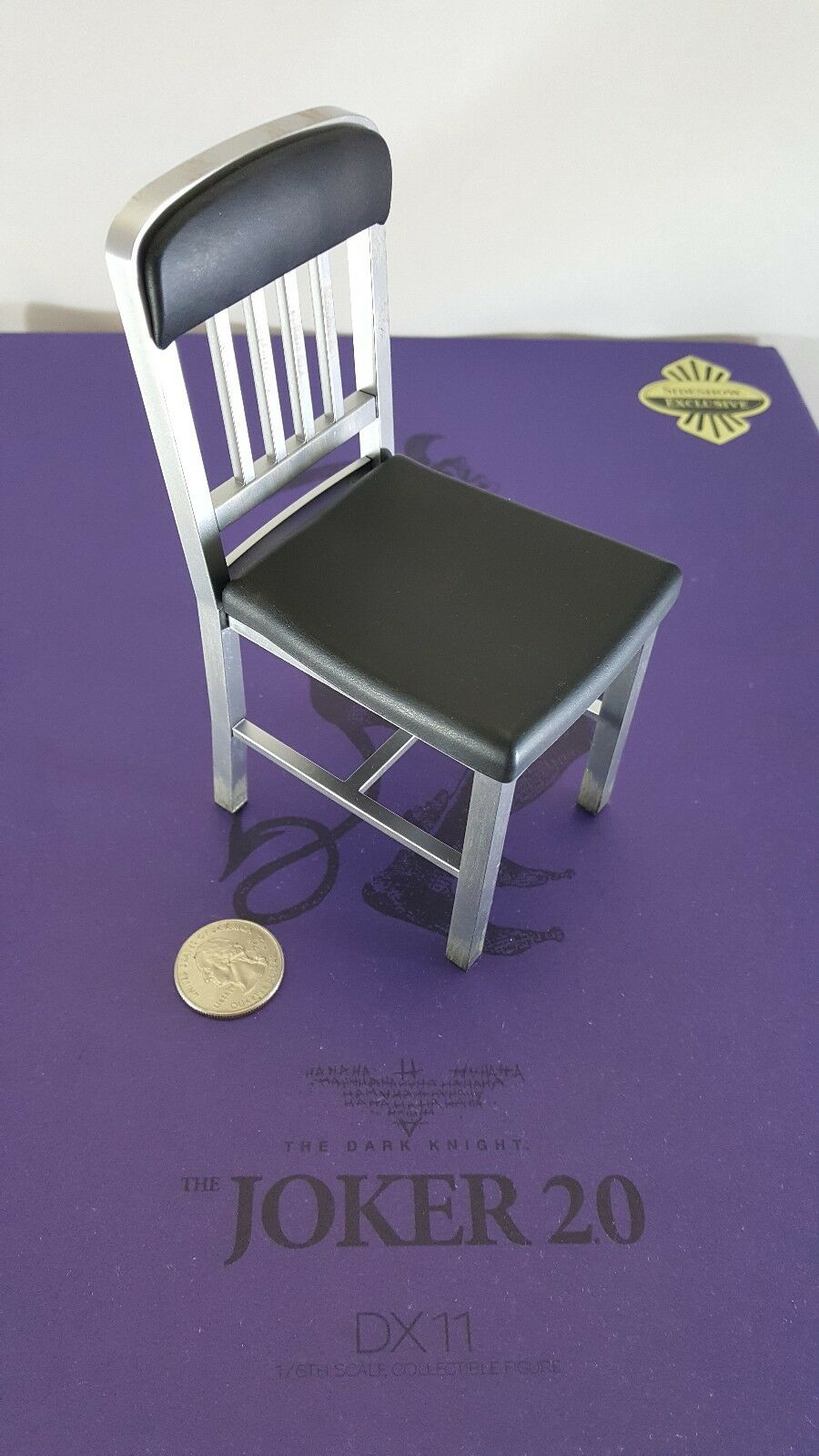 Hot Toys Exclusive DX11 Dark Knight 1/6 Joker 2.0 action figure's chair only