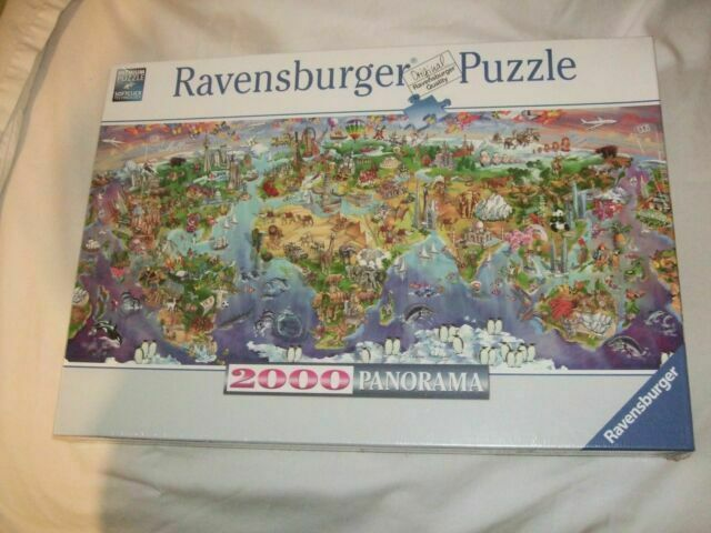 Ravensburger World Wonders Panoramic