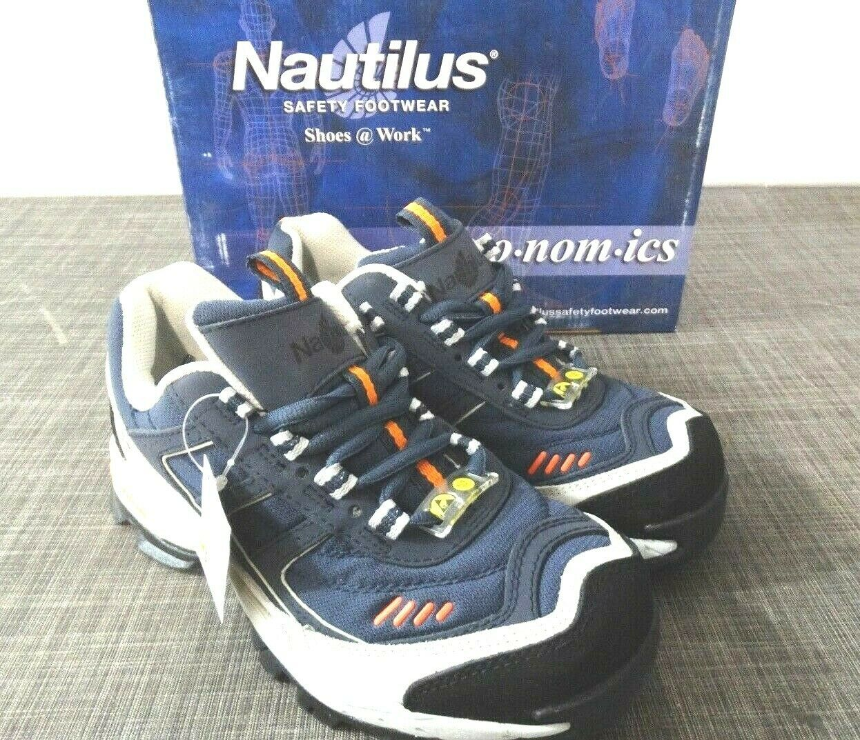 Nautilus 1376 Women's ESD No Exposed Metal EH Safety Toe Athletic shoes