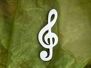 Das Bild Wird Geladen Notenschluessel Aus Sperrholz Dekoration Basteln Holz  Noten Handarbeit