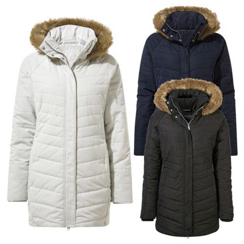 Craghoppers Womens Liesl Insulated Winter Parka Coat