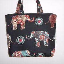 Handmade Elephant Tote Purse Bag