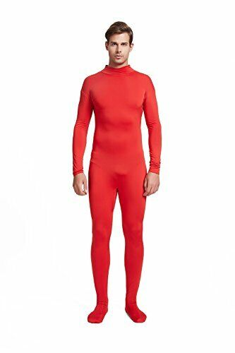 Full Bodysuit Unisex Costume Without Hood Gloves Lycra Spandex Zentai Unitard