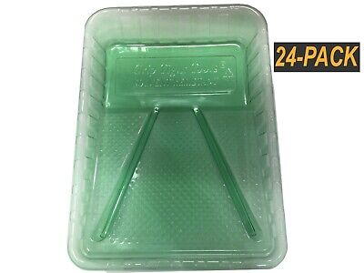 Encore Plastics Solvent Resistant Paint Tray Liner for 1 Quart Trays Black