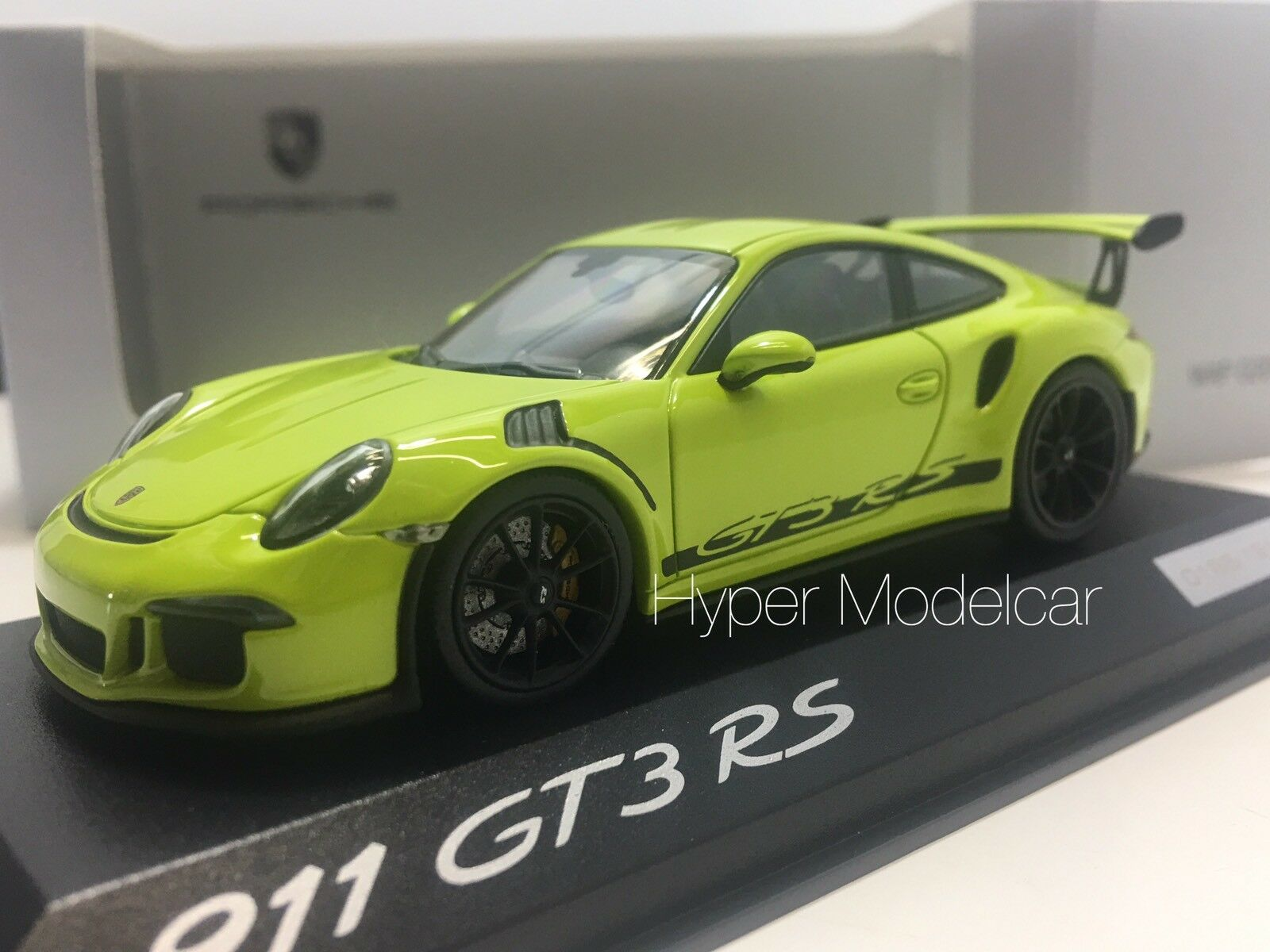 MINICHAMPS 1/43 Porsche 911  991  Gt3 RS Coupè 2013 Light verde Art. WAP0201530H