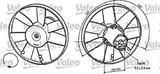 VALEO Radiator Condenser Cooling Fan 345 mm Fits FORD SEAT Arosa VW 1994-2010