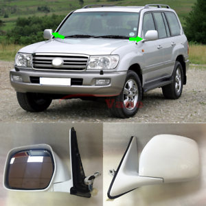 2x For TOYOTA Land Cruiser LC100 4500 4700 1998-2007 3 wire Car Side View Mirror