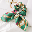 Solid-Floral-Bow-Scrunchie-Hair-Band-Elastic-Hair-Ties-Rope-Scarf-Accessories thumbnail 19