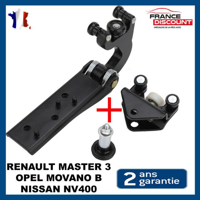 Movano B Kit Roller Tensioner Hinge Door Right Side Renault Master 3