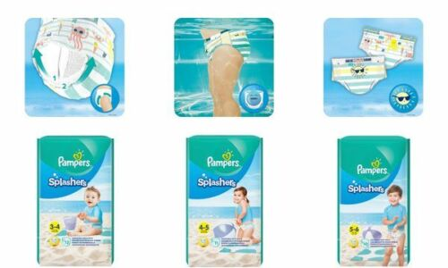 Pampers Schwimmwindeln Splashers Größe 4-5 Tragepack