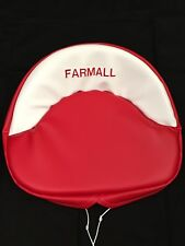 Embroidered Farmall Seat Cushion H M 300 450 Cub Farmall Seat Cushion