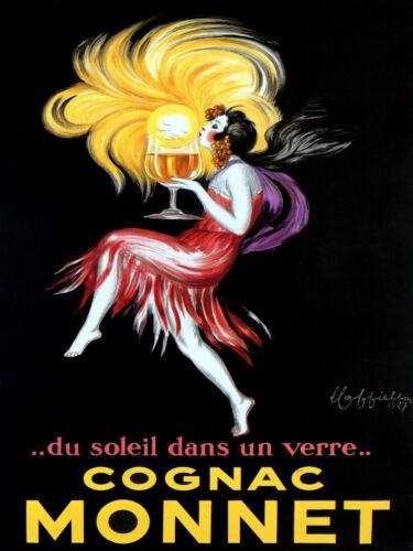 French POSTER.Stylish Graphics.Cappiello Cognac.Bar and Room Decor.254i