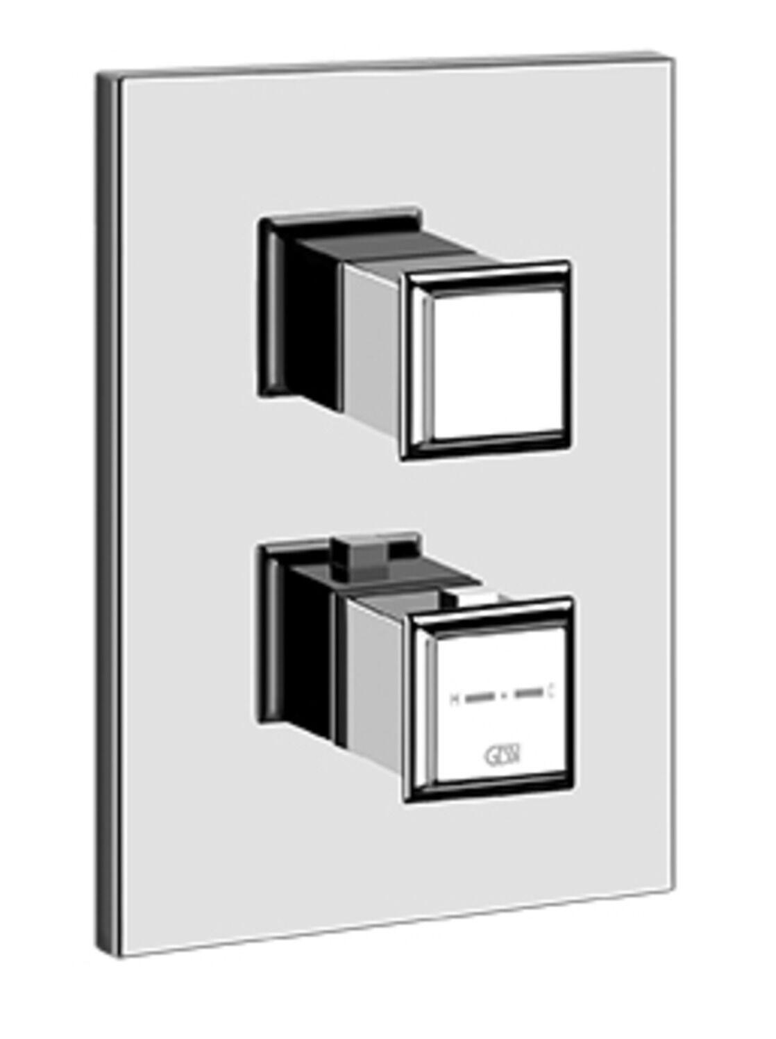 Farbset Thermostat ELEGANZA  m.2-Wege-Umstellung f.GESSIUPKTH Gessi 46234031