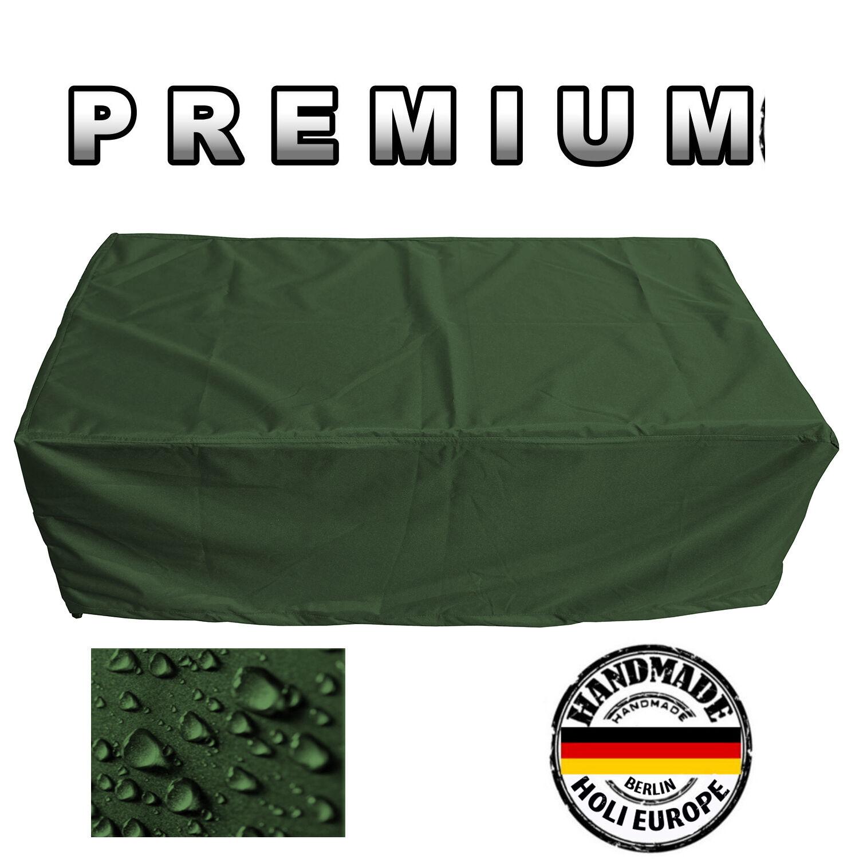Top jardín mesa cubierta projoectora cubierta lona cobertora B 220 x t 100 x h 110 verde oliva