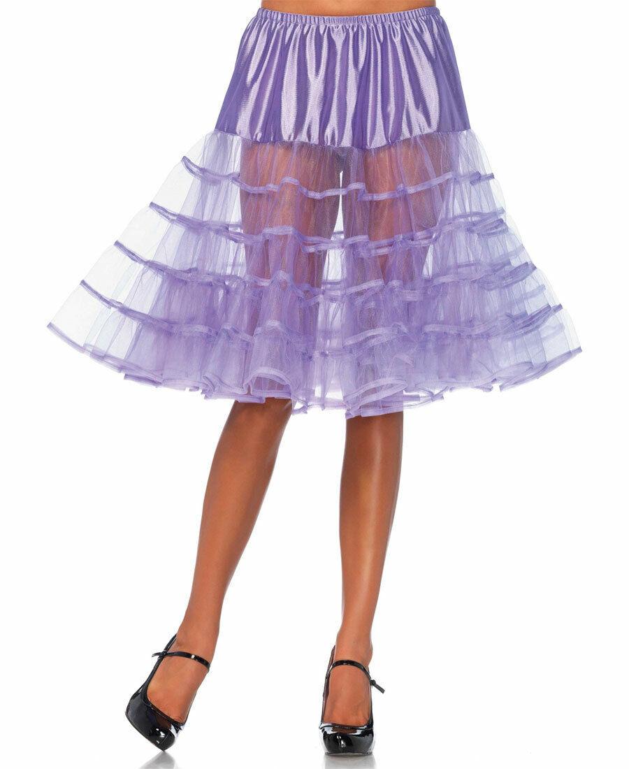 New Leg Avenue 83043 Lavender Knee Length Petticoat