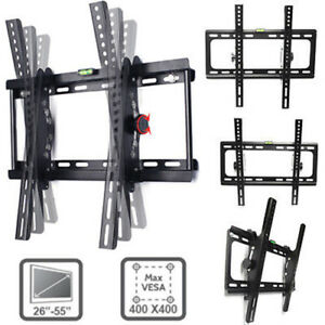 Flat Tilt TV Wall Mount Bracket 14 26 32 37 40 42 46 47 50 55 60 70 Inch LCD LED