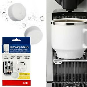Details About 6 X Cleaning Descaling Tablets For Aeg Electrolux Zanussi Coffee Machine Makers