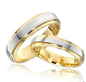 Image Is Loading 2pcs Simple Style Beautifully Engagement Rings Husband And