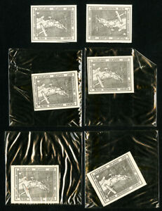Falkland-Islands-Stamps-Early-Lot-of-6-First-Flight-Issues