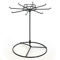 Retails 8 Hook Black Finished Counter Spinner Rack 15hx11 Dia
