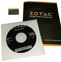 Original Zotac Geforce Gtx660ti Grafikkarten Treiber Dvd Boost Handbuch Sticker
