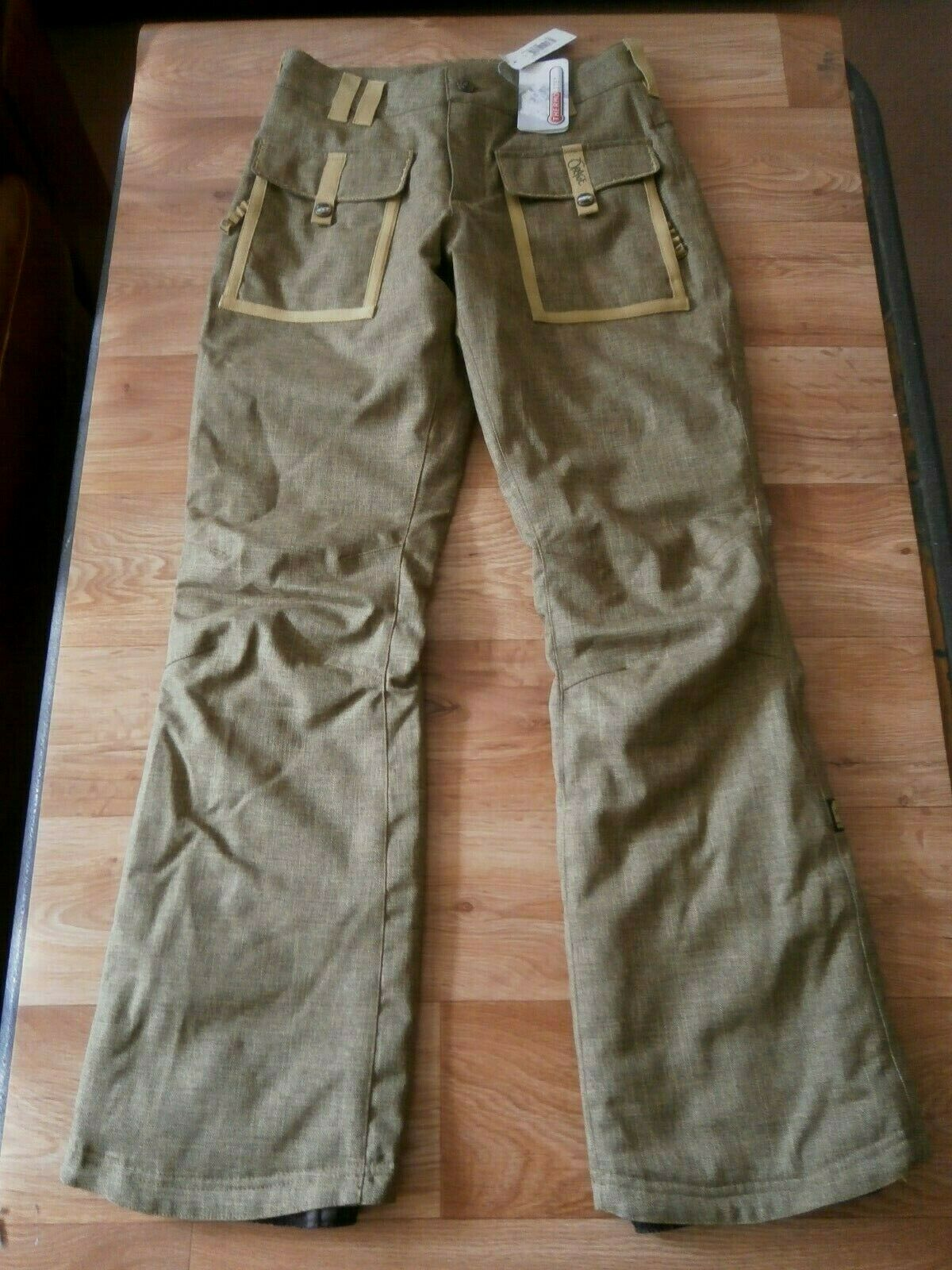 Fab damen Orage Gallery Ski Pants Khaki Größe Small  182 Euros see sizing