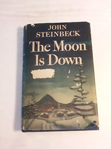 The-Moon-is-Down-John-Steinbeck-1st-ed-1st-prt-2nd-issue-1942-in-very-good-cond
