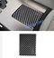 Carbon Fiber Water Cup Holder Panel Cover Trim For LEXUS IS250//300 2006-2011