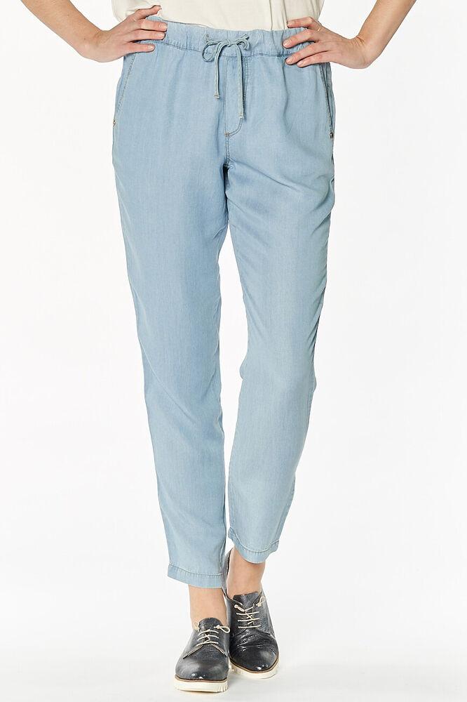 Bien Gaudì-donna Jeans Bleu Femmes Jogger Pantalon Trousers Acheter Un Donner Un