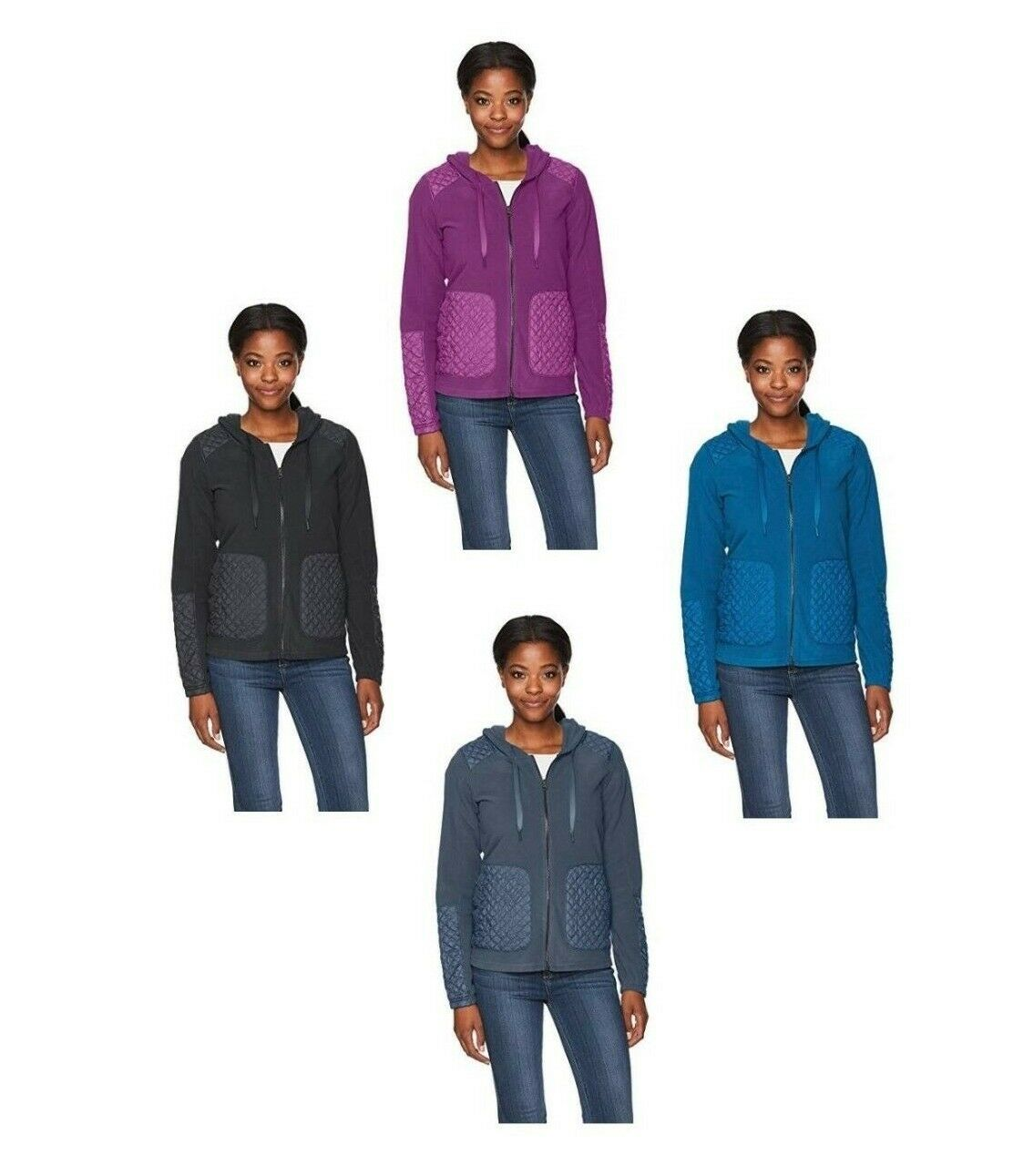 Women's Columbia Warm Up Hooded Full Zip Fleece Multiple colors and Sizes