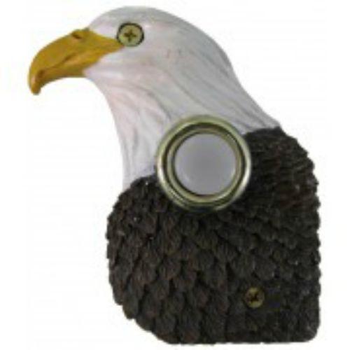 Lighted Decorative Doorbell (Handpainted Eagle Doorbell)