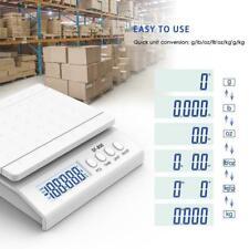 66 Lb X 01oz Digital Shipping Scale Postal Weigh Backlit Lcd Lboz Ac Adapter