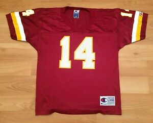 online retailer e063f 7f5eb Details about KIDS WASHINGTON REDSKINS JERSEY YOUTH LARGE BRAD JOHNSON VTG  CHAMPION FOOTBALL