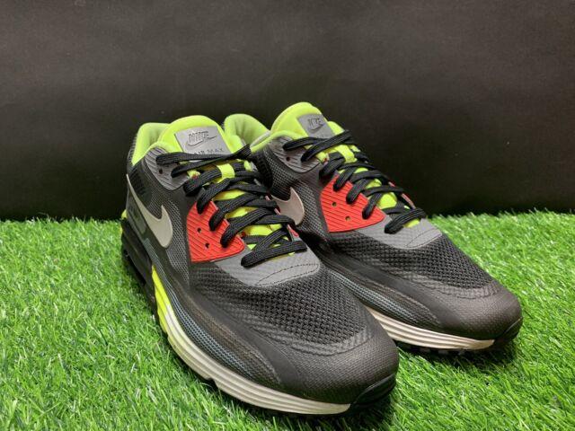 Size 10.5 - Nike Air Max Lunar 90 C3.0 Black Volt 2014