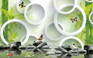 3D Bamboo 6122 Wallpaper Murals Wall Print Wallpaper Mural AJ WALL AU Carly