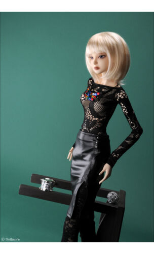 "Erbe two-piece Set Dollmore 26/"" BJD girl clothes Model Black"