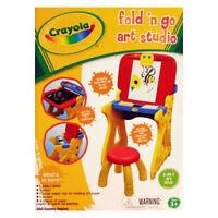 Crayola Play 'n Fold 2-in-1 Art Studio + Paper + Eraser Brand New, In Box