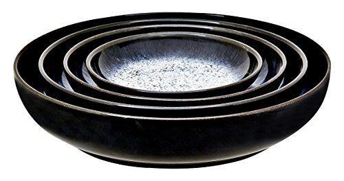 Denby Halo Nesting Bowls Grey Set of 4