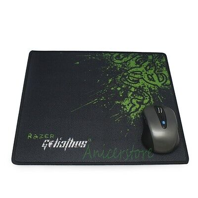 Large Size PC Laptop Game Office Razer Mouse Mice Pad Mousemat 290x250mm Locked