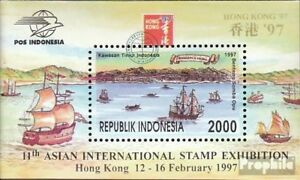 Indonesia-block118-mint-never-hinged-mnh-1997-Stamp-Exhibition