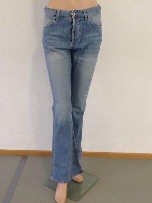 Jiggy Jeans Schlaghose Rosy Hellblau Graffiti W29 oder W30 Wähle aus Neu