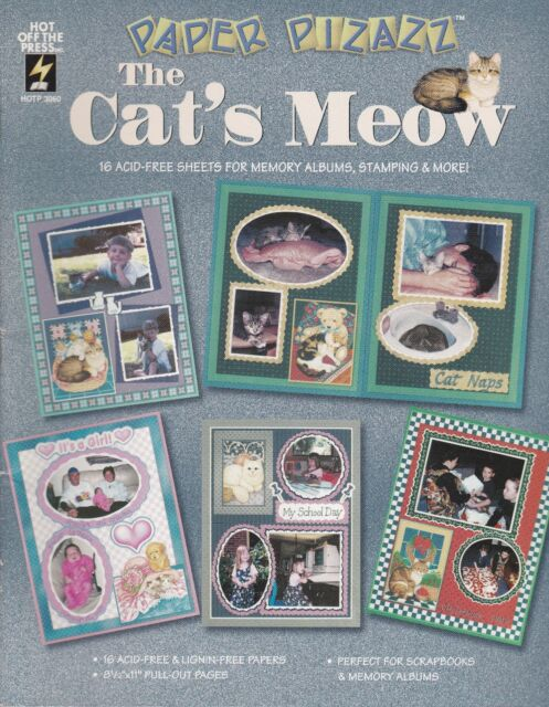 The Cat's Meow Paper book - Hot off the Press