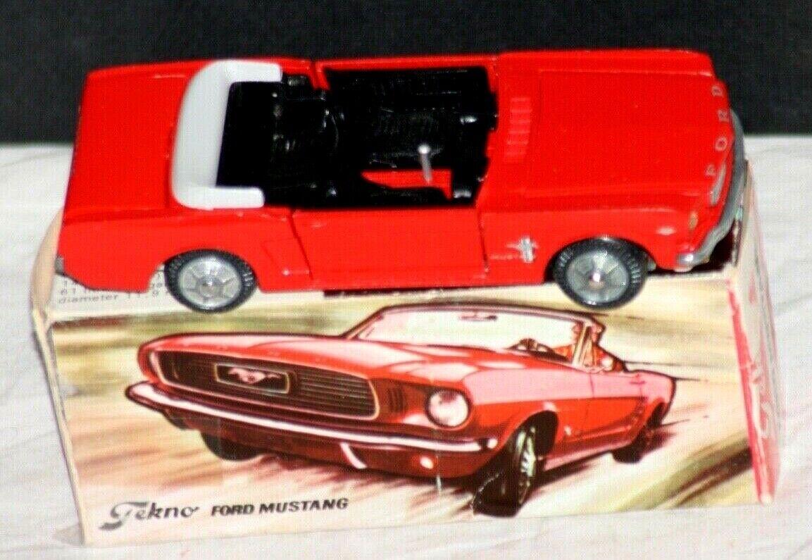 Repro box Tekno nº 833 Ford Mustang
