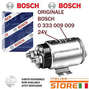 Für Iveco Zündspule Rele 24V Original BOSCH 0333009009