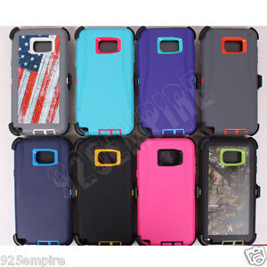 best sneakers 2f6e1 4bb1c Details about for Samsung Galaxy S6/S6 Edge Plus Case Cover(Belt Clip fits  Otterbox Defender)