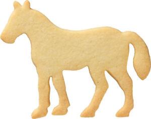 Pferd-11-6-cm-Ausstecher-Ausstechform-Keksausstecher-aus-Edelstahl