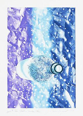 JAMES ROSENQUIST Signed 1982 Original Color Aquatint, Published by Gemini G.E.L.