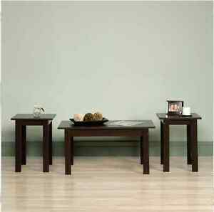 Coffee Table 3 Piece Sets.Details About Coffee Tables And End Tables Sets Living Room 3 Piece Cherry Lamp Furniture Side
