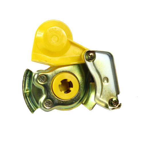 Air Line Yellow Palm Coupling With Self Sealing Valve M22x1,5 for Truck//Trailer